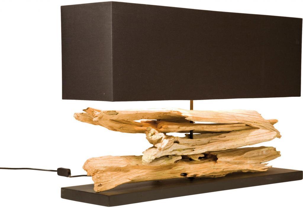 Design Tafel Lamp : Kare design tischleuchte nature horizontal designwohnen